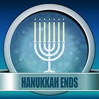 Hanukkah Ends