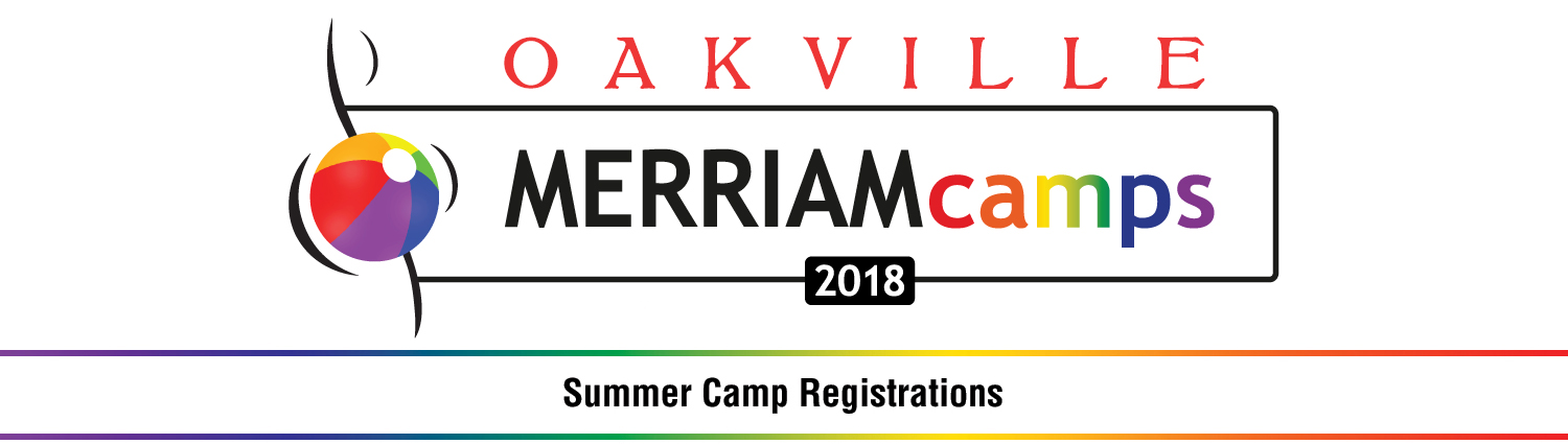 Oakville Summer Music Camps - Merriam Logo